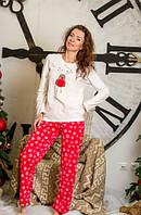 Пижама женская флисовая, 54/56 Primark