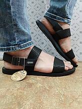 Стильные мужские кожаные сандалии Bertoni