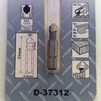 Зенкер 3 кромки 6,3 мм 6,3х31 Makita (D-37312)