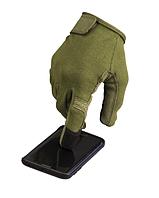 Рукавиці тактичні Mil-tec з сенсорною вставкою олива
