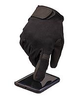 Рукавиці тактичні Mil-tec з сенсорною вставкою чорні