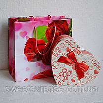 Подарочная коробка с конфетами на День влюбленных (мини), фото 2