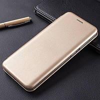 Чехол Fiji G.C. для Samsung Galaxy M12 (M127) книжка магнитная Gold