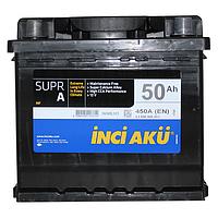 Акумулятор Inci Aku SuprA 50Ah/450A R+ L1 045 050 013 Автомобільний (Инджи Акю) АКБ Туреччина ПДВ