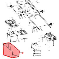 Травосборник для газонокосилок 60 л для PLM4620N, PLM4621, PLM4621N, PLM4622N, ELM4610, ELM4611 Makita