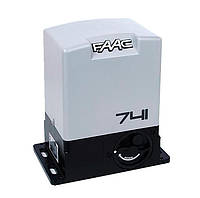 Автоматика для откатных ворот  FAAC 741 230V. Вес ворот до 900 кг.
