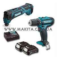 Набор инструментов Makita CLX 206 X1