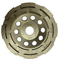 Алмазний шліфувальний диск (подвійний) 125х22,23 мм Makita (D-66715)