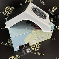 Мощная вытяжка для салона красоты ULKA X2 Soft в белом цвете с подушкой (полная комплектация)