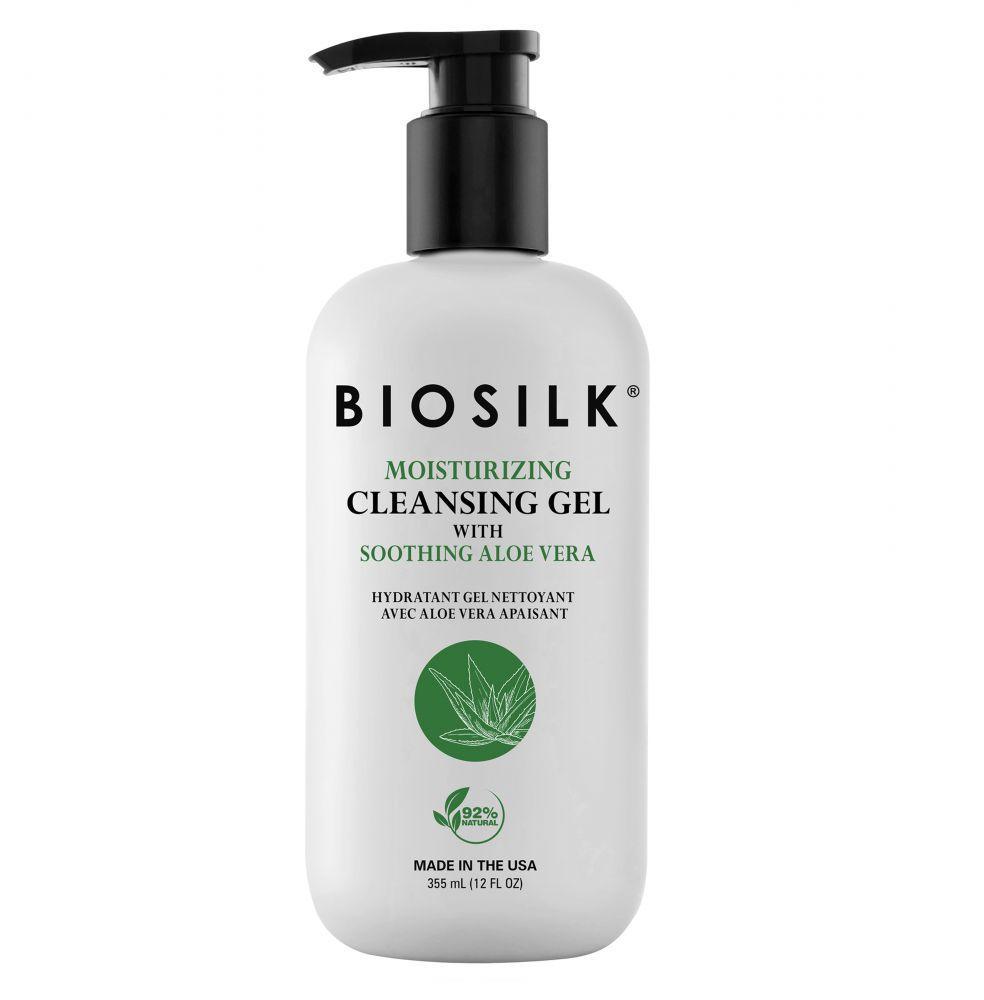 Зволожуючий очищуючий гель для рук BioSilk Moisturising Cleansing Gel with Soothing Aloe Vera