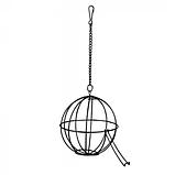 Годівниця для гризунів у формі кулі на ланцюжку 12см, Trixie TX-6105, фото 2