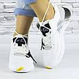 Кроссовки женские белые летние комбинированные (b-693), фото 6