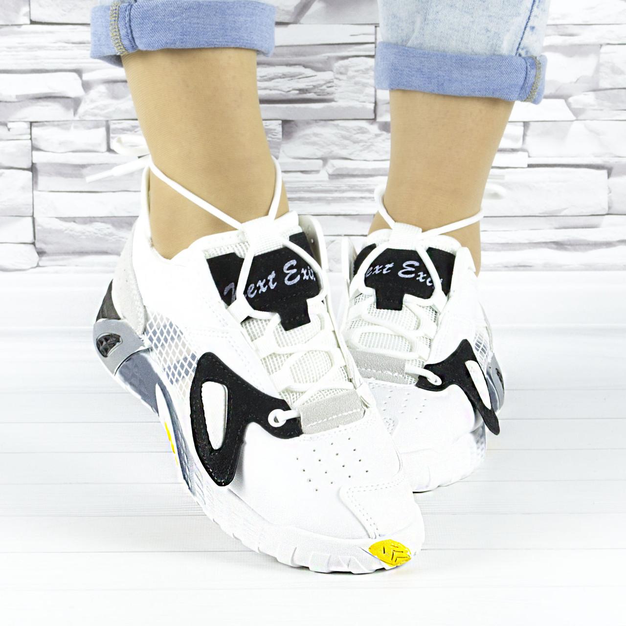 Кросівки жіночі білі літні комбіновані (b-693)