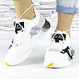Кросівки жіночі білі літні комбіновані (b-693), фото 3