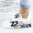 Кросівки жіночі білі літні комбіновані (b-693), фото 9