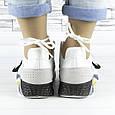 Кроссовки женские белые летние комбинированные (b-693), фото 4