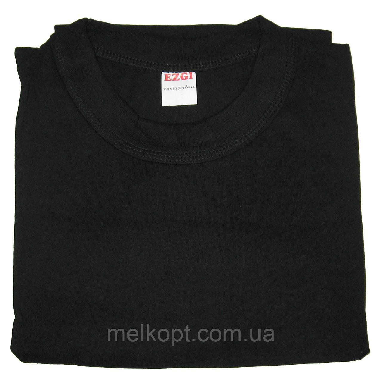 Чоловічі футболки Ezgi - 51,00 грн./шт. (54-й розмір, чорні)