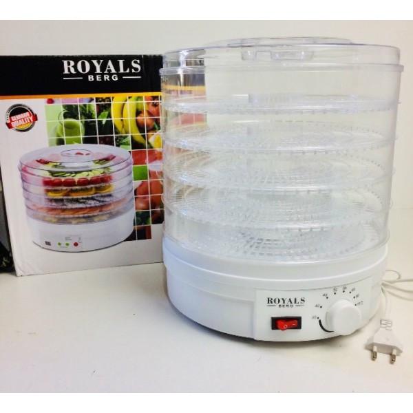 Сушилка электрическая для фруктов и овощей Royals Berg  RB-959 с терморегулятором