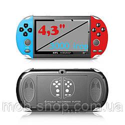 """Детская игровая приставка консоль PSP X7 Mp5 4.3"""" для игр и просмотра мультфильмов"""
