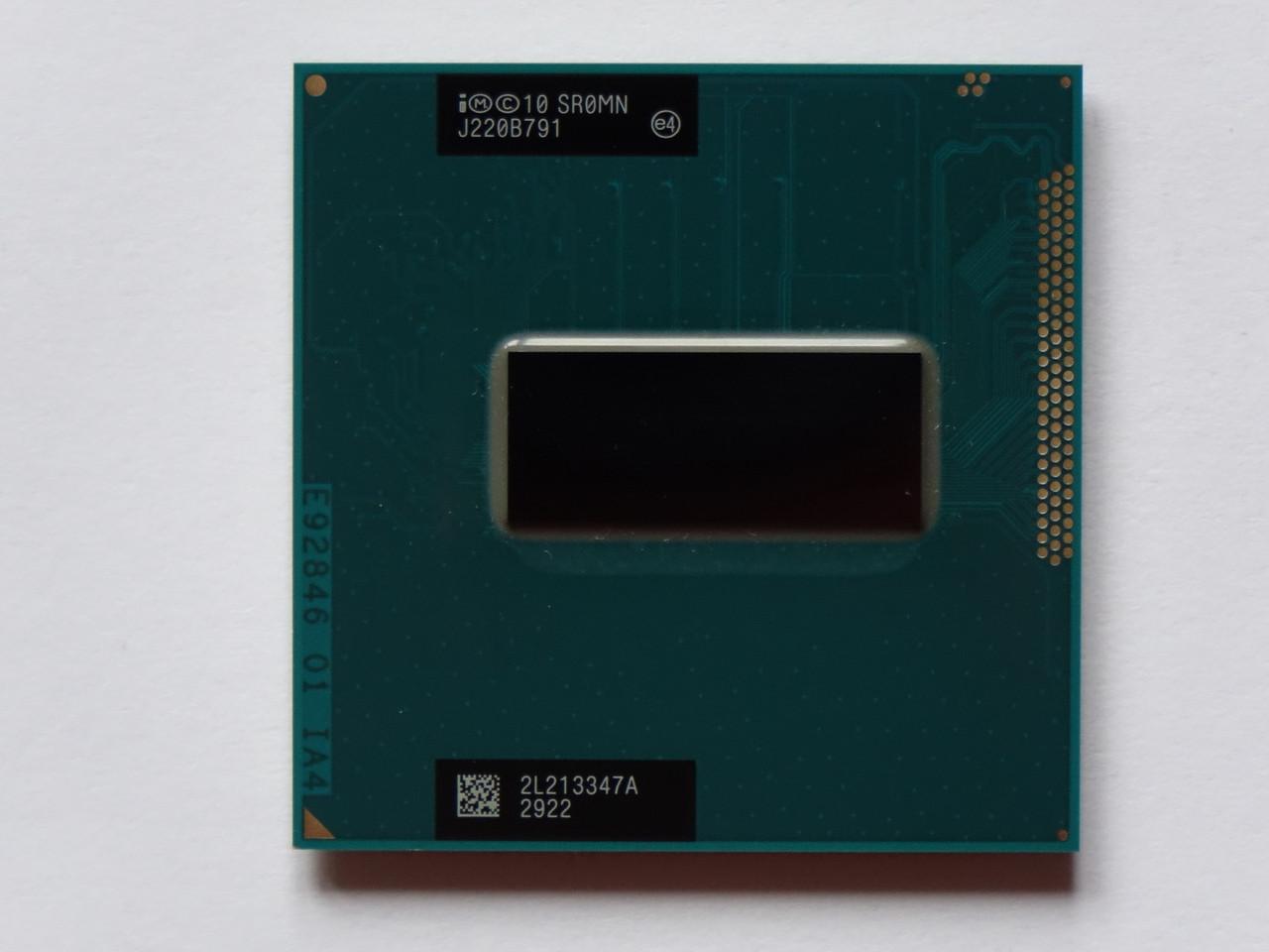 Процессор Intel Core i7-3610QM (SR0MN) 2.3-3.3GHz, 6Mb, 45W, Socket G2, 4 Ядра/8потоков + Intel HD 4000, БУ