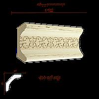 167-1028 Карниз с орнаментом декоративный