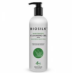 Увлажняющий очищающий гель для рук BioSilk Moisturising Cleansing Gel with Soothing Aloe Vera 710
