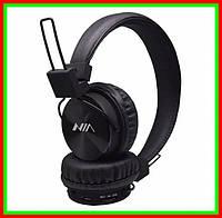 Беспроводные стерео наушники NIA X2 МР3 FM Bluetooth Black . Limon4ik