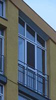 Oкно трапеция Комфорт Таун на лоджию 1750х3630 REHAU Ecosol-Design 60