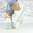 Кросівки жіночі білі літні комбіновані (b-694), фото 2