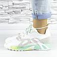 Кросівки жіночі білі літні комбіновані (b-694), фото 10