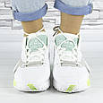 Кроссовки женские белые летние комбинированные (b-694), фото 9