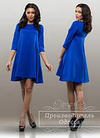 Красивое короткое платье свободного покроя. Арт-3844/31.
