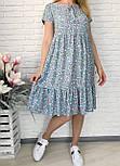 Платье женское летнее с коротким рукавом, фото 2