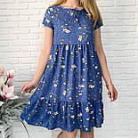 Платье женское летнее с коротким рукавом, фото 4