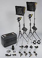 Dedolight DLED4.1-BI LED Standard 4-Light Kit (Bicolor, 90-264VAC) (KLED4-BI)