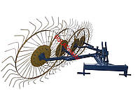 Грабли-ворошилки (Солнышко) толщина граблины 6,0 мм для минитрактора Агромарка