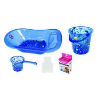 Ванночка Sevi Bebe Набор для купания с рисунком Голубой (8692241137014)
