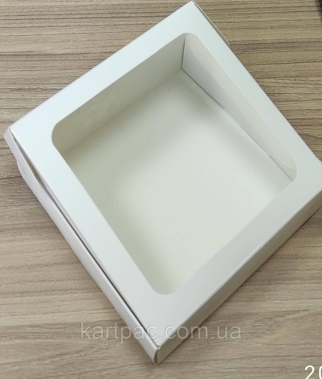 Картонна коробка для пряників 155*155*35