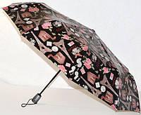 Зонт черный, розовые розы, башня 33_2_53a2