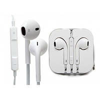 Проводные наушники I5, наушники для iPhone, iPod, iPad, проводная гарнитура, проводные наушники