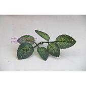 Подложка с листочками зеленая МАЛЕНЬКАЯ , 100 шт