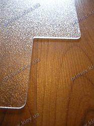 Подрезка защитного коврика под кресло 29