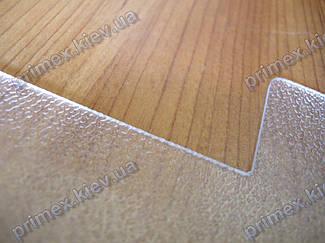 Подрезка защитного коврика под кресло 3