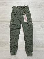 Катоновые брюки для дівчаток. 8 - 16 років.