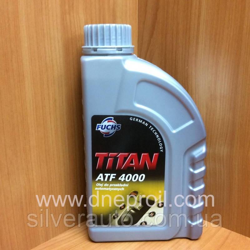 Трансмиссионное масло FUCHS TITAN ATF 4000 1л., фото 1