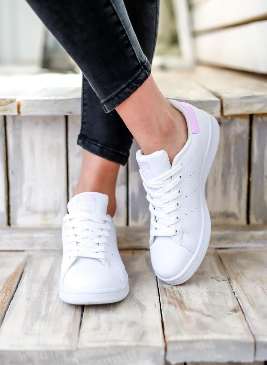 Женские кроссовки Adidas Stan Smith Adidas Pink