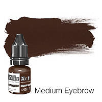 Пигмент для татуажа WizArt Microblading Medium Eyebrow 5 мл