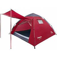 Палатка KingCamp Monza 3 KT3094, темно-красная