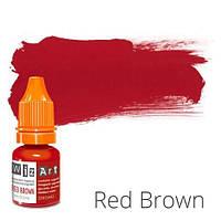 Пигмент для татуажа WizArt Strong Red Brown 5 мл
