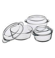Набор круглых кастрюль (59033+29023+59003)  Borcam 159021